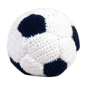 Gehäkelter Fussball