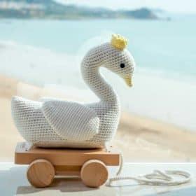 Baby-Spielsachen von Sindibaba für zuhause.
