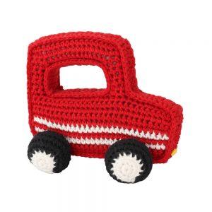 Geländewagen gehäkelt (Rot)