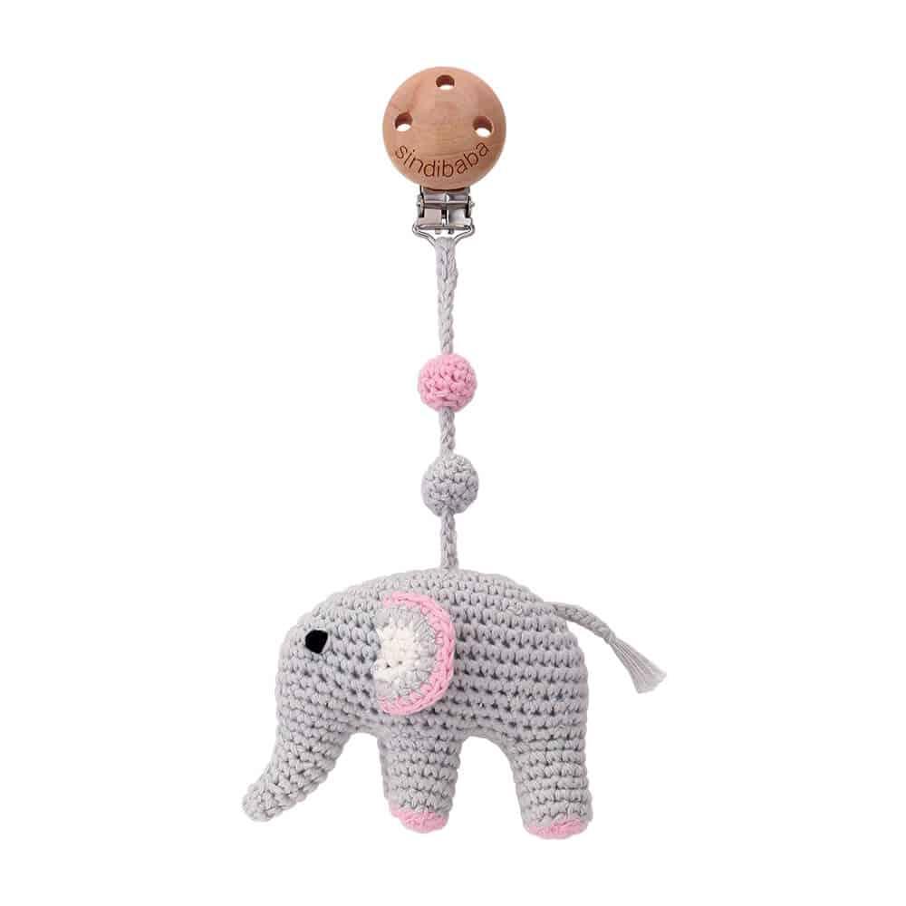 Baby Toys 1set Crochet Amigurumi Elephant Rattle Custom Newborn | eBay | 1000x1000