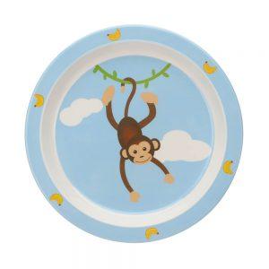Kinder-Teller mit Äffchen CHARLIE