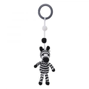 Crochet Pram Toy Zebra STRIPEY | 12474