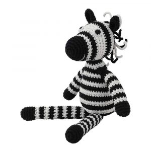 Crocheted Cuddly Toy Zebra STRIPEY | 12477